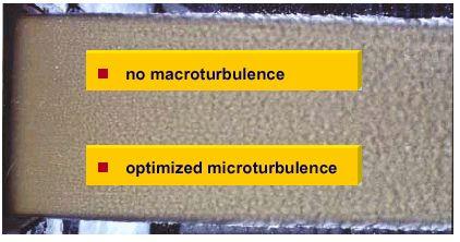 Hình 18 Sự cải thiện chất lượng phun bột nhờ vào lamellas.