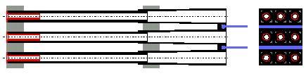 Hình 7 Bộ ph�n tạo chảy rối với lamellas.
