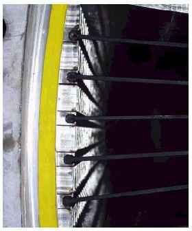 Hình 8 Bộ ph�n tạo chảy rối với lamellas.